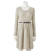LC Lauren Conrad Fit & Flare Sweater Dress - Women's