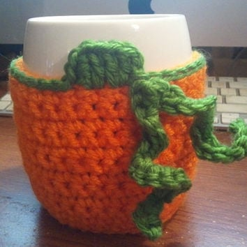 Pumpkin Cup/Mug Cozy, fall, autumn