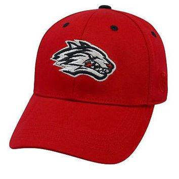 Licensed New Mexico Lobos NCAA Youth One Fit Cotton Hat Cap NM TOW 116709 KO_19_1