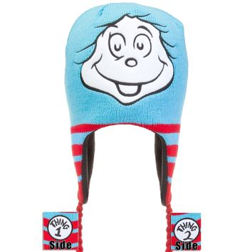 Dr. Seuss - Thing 2 Peruvian Knit Hat