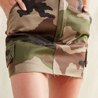 Urban Renewal Recycled Vintage Camo Mini Skirt | Urban Outfitters