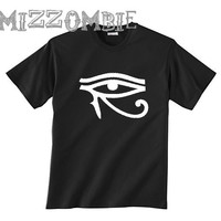 EGYPTIAN SHIRT unisex crew neck free hugs eye of horus