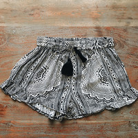 A Boho Babe Short in Black