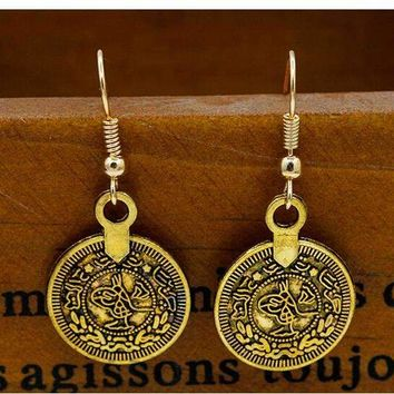 Classic style Jewelry Ear drop Earrings Indian Egyptian style  \