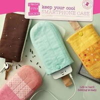 Straight Stitch Society Keep Your Cool Smartphone Case Pattern