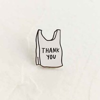 Adam J. Kurtz Thank You Bag Pin