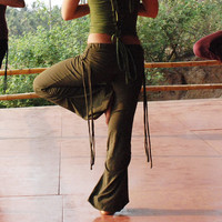 Green organic Adinata pants