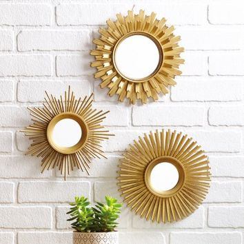 Better Homes & Gardens 3 Piece Mirror Set - Walmart.com