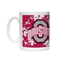 Boelter Ohio State Coffee Mug-Paint Art