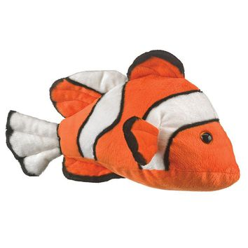 "14"" Clownfish Stuffed Animals Floppy Ocean Conservation Collection"