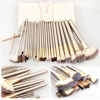Makeup Brushes 24pcs Cosmetics Professional Brush Kit Cream