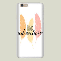Find Adventure Feathers iPhone case by thelionandthelark on BoomBoomPrints