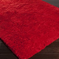 Pado Area Rug | Red Shag Rugs Hand Tufted | Style PAD1016