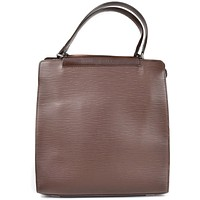 Louis Vuitton Epi Tote Brown | Pre-Owned Used