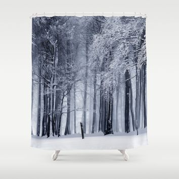 Kiss Me Shower Curtain by Gallery One