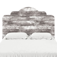 Wood III Headboard Decal
