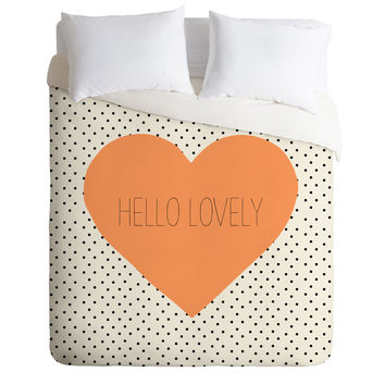 Allyson Johnson Hello Lovely Duvet Cover