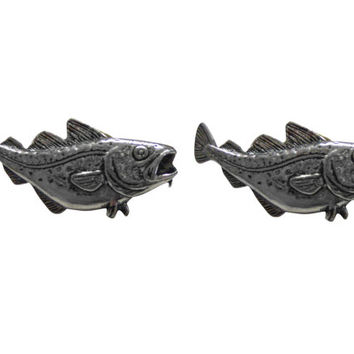 Bass Fish Cufflinks