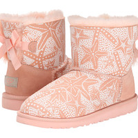 UGG Kids Mini Bailey Bow Starfish (Big Kid) Chestnut - Zappos.com Free Shipping BOTH Ways