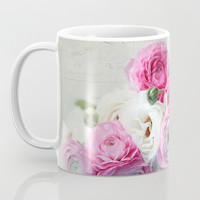 Ranunculus still life Coffee Mug by sylviacookphotography