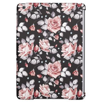 Vintage Pink Floral Pattern iPad Air Case