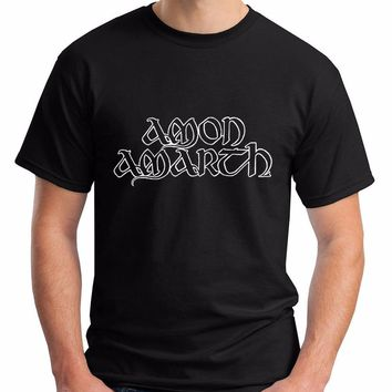 2017 t shirt men cotton summer o-neck Amon Amarth male tshirts fashion print pattern brands t-shirt mens