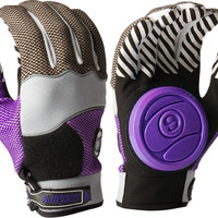 Sector 9 Apex Slide Gloves Large/XL Grey/Black/Purple