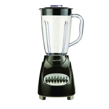 12 Speed Blender Plastic Jar Black
