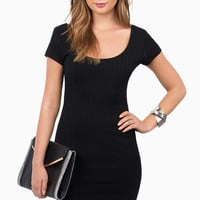 Barrymore Ribbed Bodycon Dress
