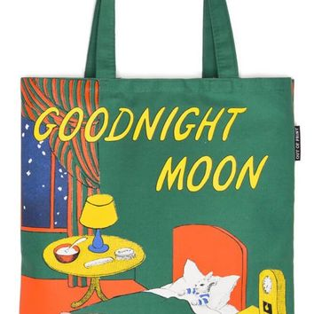 Goodnight Moon Cotton Canvas Tote Bag