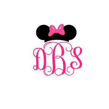 Minnie Mickey Mouse Decal, Minnie Mickey Mouse Disney Magic Arm Band,  Mouse Car Decal, Disney World, Disney World Trip, Monogram  Disney