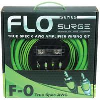 Surge Flo Series Amp Installation Kit (0 Gauge 5000 Watts)