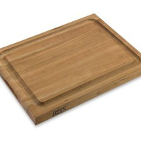 Boos Edge-Grain Carving Board, Cherry