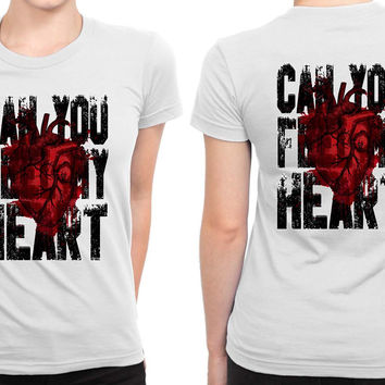 Bring Me To The Horizon Feel My Heart Bmth B 2 Sided Womens T Shirt