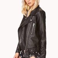 Iconic Quilted Moto Jacket