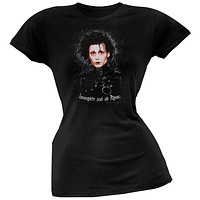 Edward Scissorhands - Alone Juniors T-Shirt
