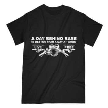 Funny Gift For Motorcycle Lover Mens T-Shirt S Sleeve Tee