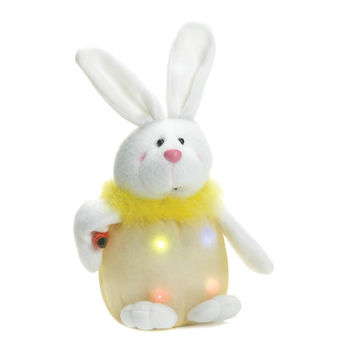 Yellow Bunny Light-up Plush