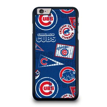 CHICAGO CUBS COLLAGE iPhone 6 / 6S Plus Case Cover