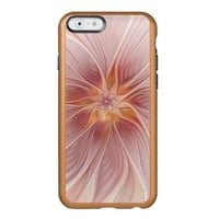 Soft Pink Floral Dream Abstract Modern Flower Incipio Feather Shine iPhone 6 Case
