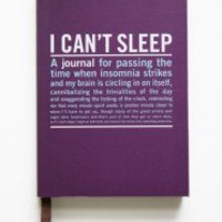 I Can't Sleep Guided Journal | Modern Vintage New Arrivals
