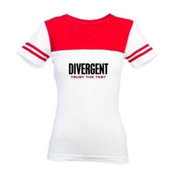 Divergent Trust the Test Jr. Football T-Shirt