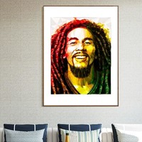 Diamond painting Bob Marley Reggae Rock diamond embroidery icons mosaic sale christmas decorations for home