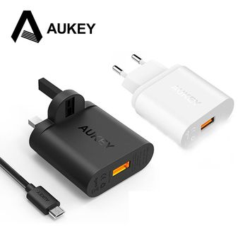 AUKEY USB Charger Quick Charge 2.0 Turbo Wall Charger