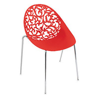 Dahlia Red Chairs (Set of 2)