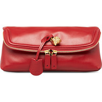 ALEXANDER MCQUEEN - New Padlock leather clutch | Selfridges.com