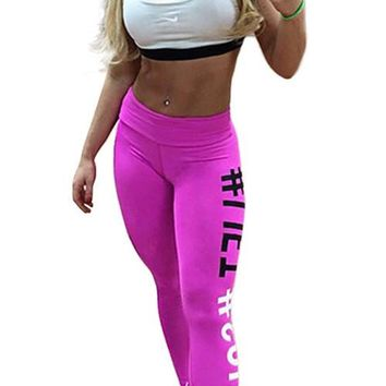 Amy pink Fitness leggings