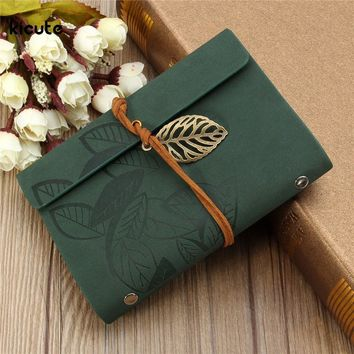New Sketchbook Stationery Agenda Vintage Diary Notebook Writing Pockets Book Leaf Leather Cover Loose Blank Travel Journal Gift