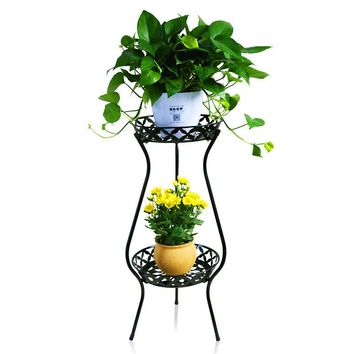Shelf Decoration Dekorasyon Mensole Per Fiori Scaffali In Metallo A Ripiani Decor Iron Stand Balkon Balcony Balcon Plant Rack