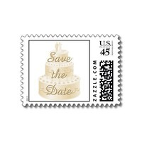 Save the Date postage stamps from Zazzle.com